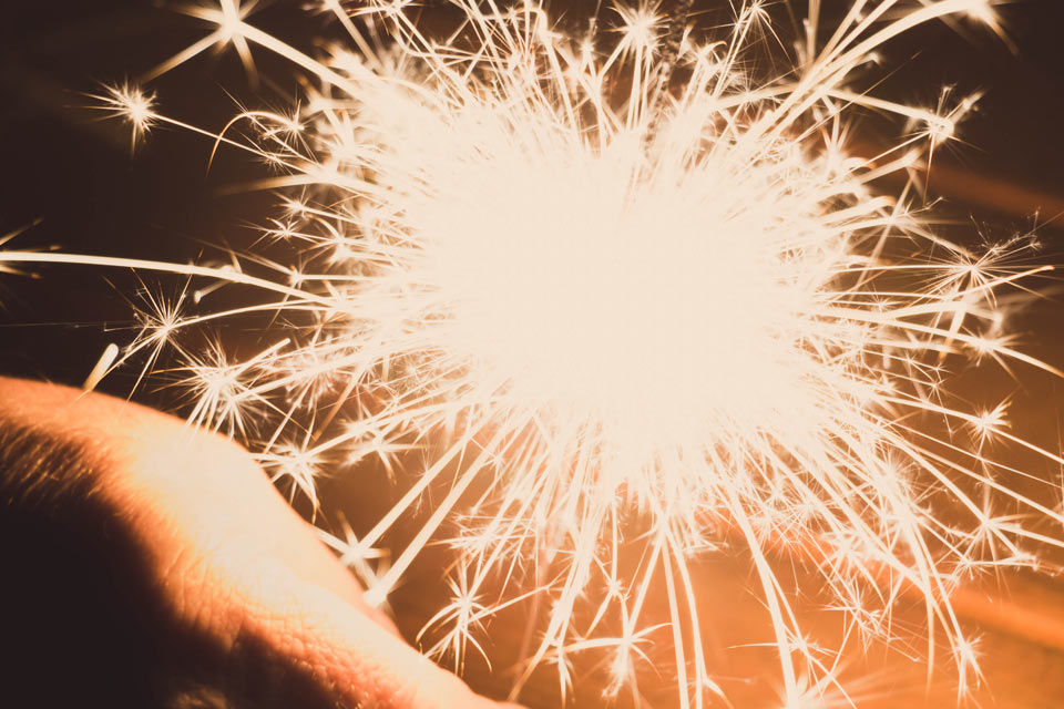 Professional Fireworks Displays for Weddings in Brittany France