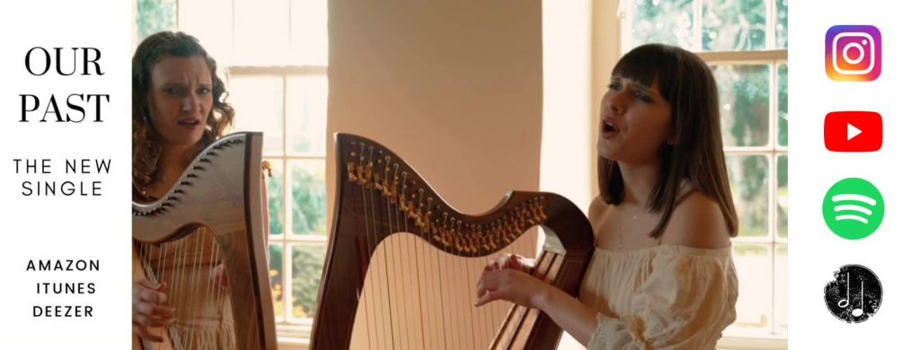 2 of Harps - new single from award winning wedding harpists in France