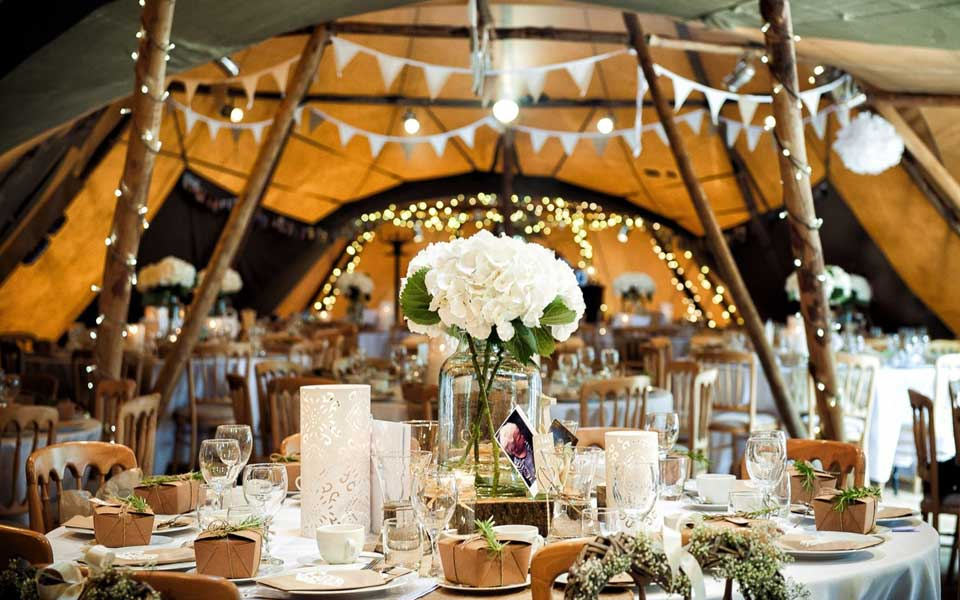 Marquee and Tip Hire for weddings in and around Occitanie