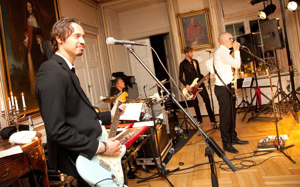 Wedding Party Band for Hire in Occitanie France