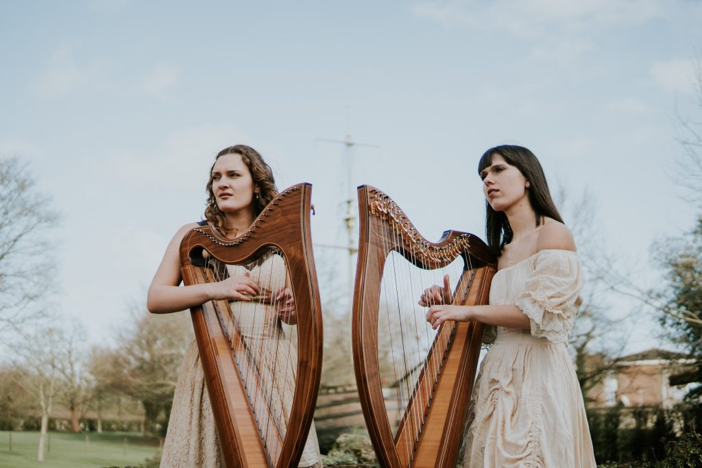 2 of Harps - award winning wedding harpists in France